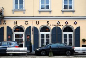 Das Restaurant Ängus Downtown am Pfarrplatz